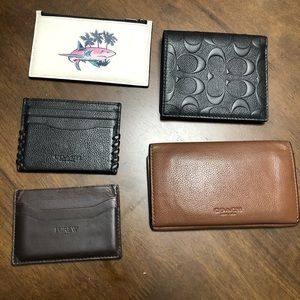 Coach/J.Crew wallet bundle